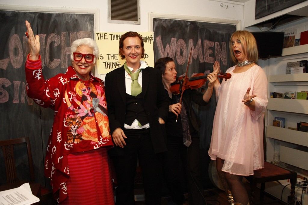 Louche Women co hosts with Buckner Building